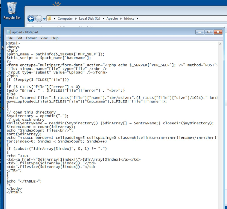 win7_textfile_php